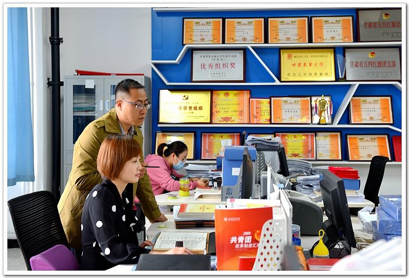甘肃农业大学档案馆_【光影甘农】寻找身边的最美劳动者-甘肃农业大学